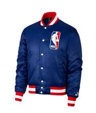 d4724dfce157 Nike SB x NBA Bomber NBA Mens Jacket Blue Red Size M AH3392 455
