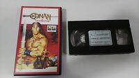 Conan der Zerstörer Arnold Schwarzenegger VHS Sammler Ausgabe Spanisch