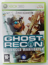 GHOST RECON ADVANCED WARFIGHTER XBOX 360 EUROPEAN PAL USED VG CONDITION