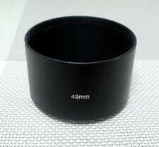 49 mm Metal Camera Lens Hood for 49 mm Filter Thread Tele Lens MH-49T