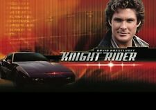 David Hasselhoff Knightrider Große Werbung PLAKAT