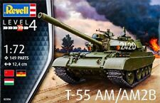 Revell 1/72 T-55AM/T-55AM2B Plastic Model Kit 03306 RVL03306