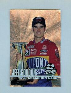 Jeff Gordon 1998 Press Pass Stealth #0 Silver Champion Insert Card 1:220 Packs