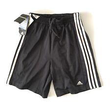 Adidas ClimaCool Stripe Sides Dual Shorts Youth Size L Dark Gray White NWT