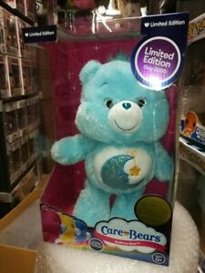 Bedtime Bear Care Bear 1921 of 2000 Limited Edition Glitter Series box damage
