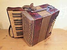 Altes Kinder Akkordeon Ziehharmonika Sammlerobjekt rar