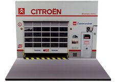 Diorama présentoir Citroën Blausasc Autos - 1/24ème - #24-2-E-E-002