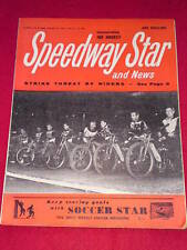 SPEEDWAY STAR AND NEWS - STRIKE THREAT - Feb 22 1964 Vol 12 # 49