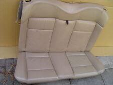 VW Golf 3 / 4 Cabrio - Rücksitzbank LEDER Hellbeige ORIGINAL / aus Baujahr 2002
