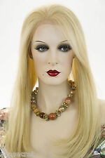 Long Premium Remy Human Hair Lace Front Blonde Brunette Red Straight Wigs