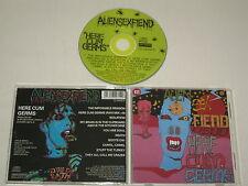 ALIEN SEX FIEND/HERE CUM GERMS(ANAGRAM CD GRAM 31) CD ALBUM