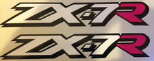 KAWASAKI ZX-7R asiento calcomanías X 2