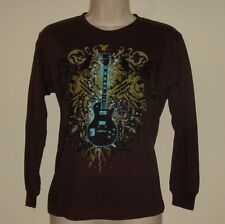 """Top Heavy Guitar Pull Over Tee Size S  Bust 32""""  Length 22"""" NWOT"""