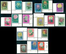 CHINA 1960/1 Chrysanthemum,Chrysantheme,Chrysanthème,Mi.570-83,S44,CV=$4,100,MNH