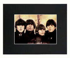 The Beatles Band Portrait 8x10 matted Art Printed Poster Decor picture Gift