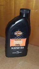 Olio motore minerale hd-360 sae 20W-50 ORIGINALE 1 LT Harley Davidson TUTTE