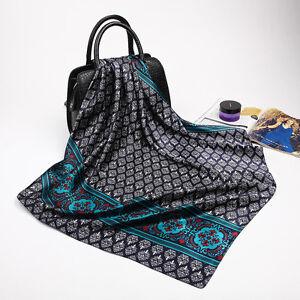 """Fey Tiy Man's Fashion Printed Soft Satin Square Scarf Shawl Hijab Wraps 35""""*35"""""""