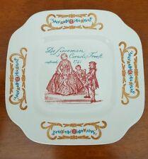 """Boch la Louvier """"Cornelis Trooft 1741"""" Desert Plate made in Belgium"""