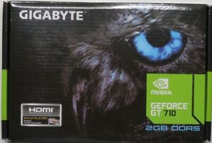 Gigabyte GeForce GT 710 2GB Graphic Cards and Support PCI Express