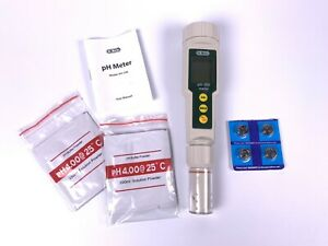 Ph Meter, Dr meter PH100 0.01 Resolution High Accuracy Pockey Size Ph Meter w