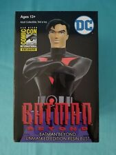 "BATMAN BEYOND ""SDCC 2017 EXCLUSIVE""  UNMASKED EDITION RESIN BUST LE BNIB"