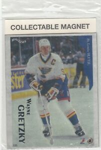 WAYNE GRETZKY COLLECTABLE MAGNET 6 X 7.5  by MAGNATES INC.1996