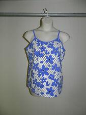 Lane Bryant Camil Cotton Stretch Womens Blue Floral Plus Size 14/16 NWOT