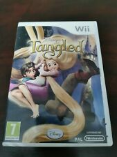 Tangled Nintendo wii Disney game - COMPLETE WITH MANUAL - FREE P&P