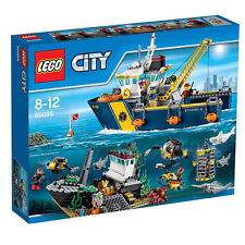 LEGO City  (60095) Tiefsee-Expeditionsschiff - NEU & OVP