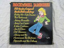 ROCK N ROLL JAMBOREE BOX SET X4 LP'S ua / umo 4000
