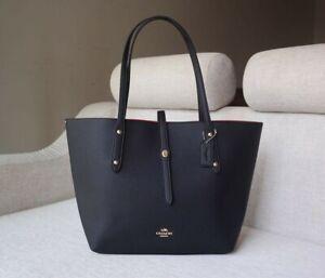 COACH WOMENS BIG Tote Bag Black F58849