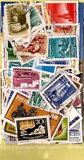 HONGRIE pochette 100 timbres TOUS DIFFERENTS oblitérés, bon etat K100/3