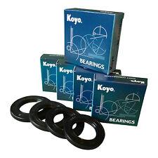 KAWASAKI ZX12R 00-03 KOYO COMPLETE FRONT & REAR WHEEL BEARINGS AND SEAL KIT