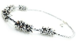 Women's Necklace Catalogue Fashion Jewellery – SPARK GLASS BEAD NUGGET ROW NECKL