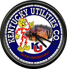 Reddy Kilowatt Kentucky Utilities Company Power Electrical Retro Sign Wall Clock