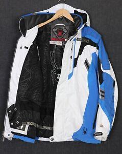 SPYDER Dermizax-EV 20k Hooded Ski Snowboarding Jacket Men Size EU 54 US XL