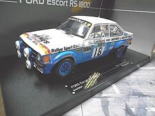 Ford Escort MKII RS 1800 2.0 Rallye RAC coupe du monde #18 Taylor Haynes 1979 Sunstar 1:18