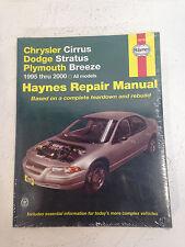 Haynes CHRYSLER CIRRUS DODGE STRATUS PLYMOUTH BREEZE 95-01 Repair Manuel 25015