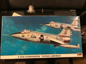 **Hasegawa 1:48 scale Taiwan Air Forces F-104G STARFIGHTER w 5 different marking
