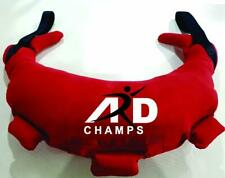 ARD CHAMPS™ FITNESS GYM TRAINING WORKOUT SAND BAG BULGARIAN CANVAS 5-28 KG RED
