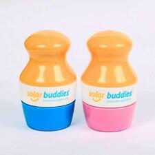 Solar Buddies Refillable Sunscreen Applicator Mess Free Easy To Use Double Pack