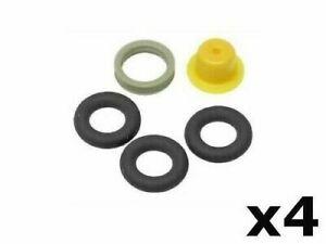 Porsche 951 944s Fuel Injector Seal O-Ring Kit  X4  BOSCH