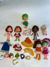 Vintage STRAWBERRY SHoRTCAKE DOLLS LOT Pets Clone Dolls Mixed LOT Kenner