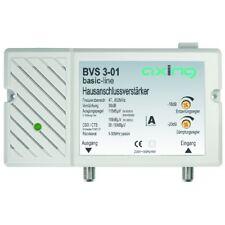 Axing BVS 3-01 BK-Verstärker | 30 dB, rückkanaltauglich, regelbar