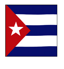 CUBA CUBAN FLAG BANDANA Cotton Scarves Scarf Head Hair Neck Band Skull Wrap