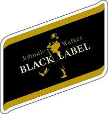 "Black Label Alcohol bumper sticker - wall, window, vinyl decal 5""x 5"""