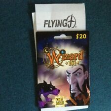 WIZARD 101 PILOT FLYING J GAS STATION Game Card 2 mo Hound Pet New