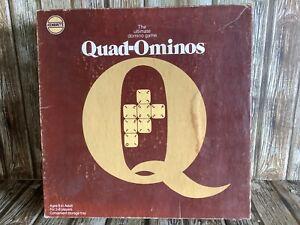 QUAD-OMINOS COMPLETE VINTAGE GAME by PRESSMAN