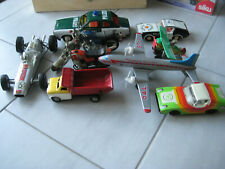 Blechspielzeug - Konvolut : Autos / Flugzeuge / Motorräder