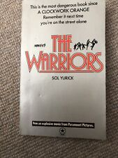 The Warriors by Sol Yurick - Paperback FILM TIE-IN - RARE